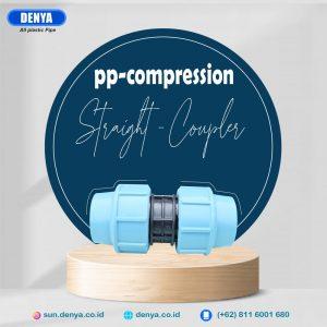 Compression Straight Coupler