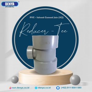 PVC Reducer Tee SCJ